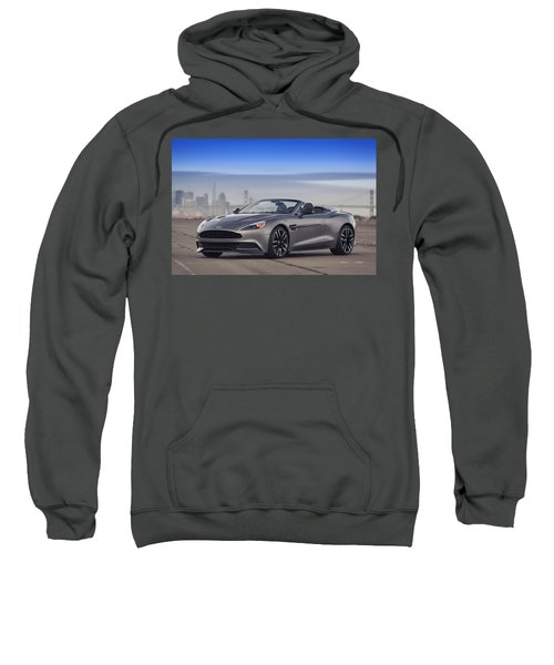 Aston Vanquish Convertible Sweatshirt