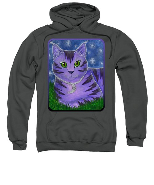 Astra Celestial Moon Cat Sweatshirt
