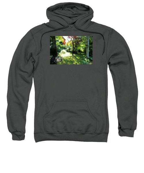 Sweatshirt featuring the photograph At Claude Monet's Water Garden 7 by Dubi Roman