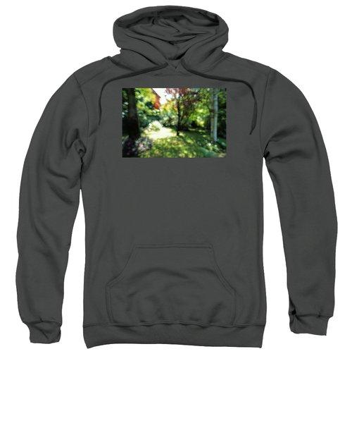 Sweatshirt featuring the photograph At Claude Monet's Water Garden 7 by Dubi Roman
