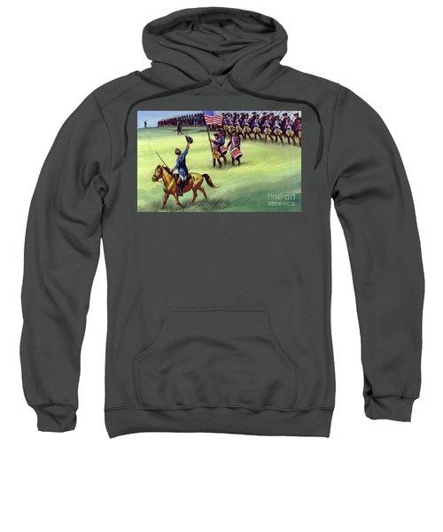At Saratoga The Colonists Won Victory Sweatshirt