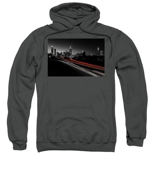 Atlanta Black And White Sweatshirt