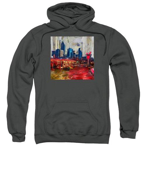 Atlanta Skyline 231 1 Sweatshirt by Mawra Tahreem