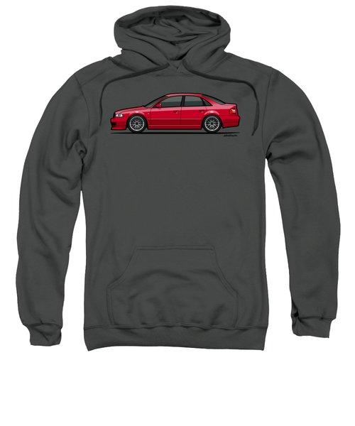 Audi A4 Quattro B5 Type 8d Sedan Laser Red Sweatshirt