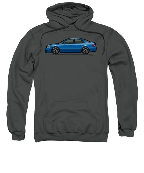 Audi A4 Quattro B5 Type 8d Sedan Nogaro Blue Sweatshirt