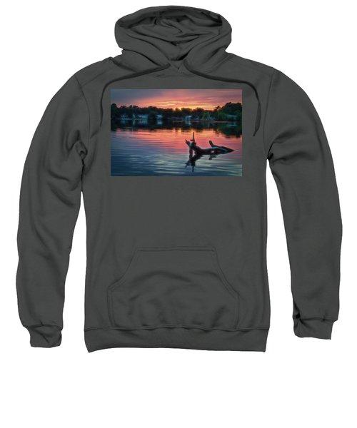 August Sunset Glow Sweatshirt