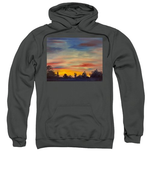 August Sunset In Sw Montana Sweatshirt