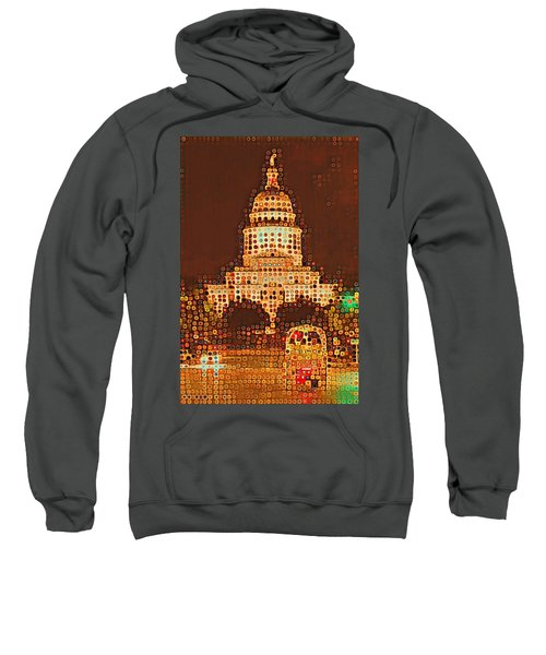 Austin Capitol At Night Sweatshirt