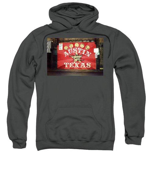 Austin Live Music Sweatshirt