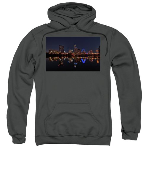 Austin Skyline At Night Sweatshirt