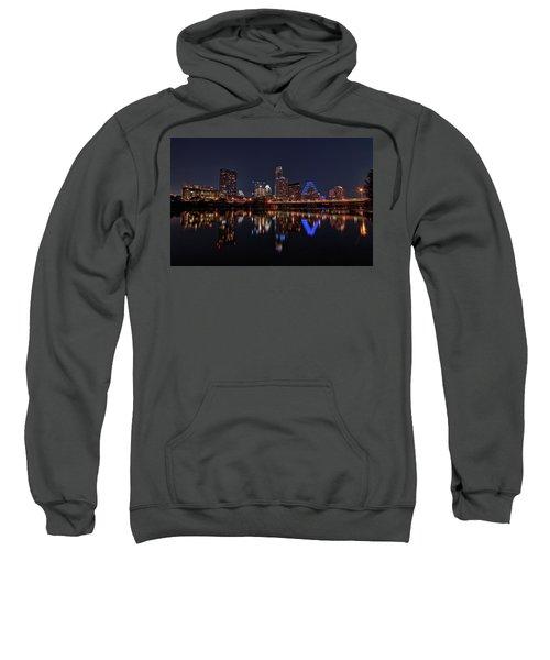 Austin Skyline At Night Sweatshirt