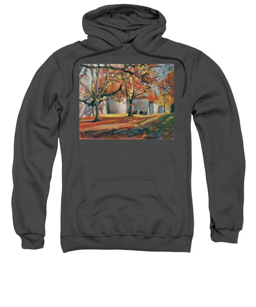 Autumn Along Maastricht City Wall Sweatshirt