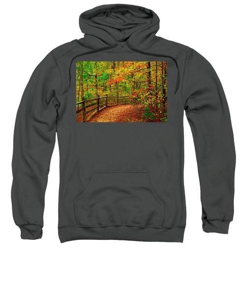 Autumn Bend - Allaire State Park Sweatshirt