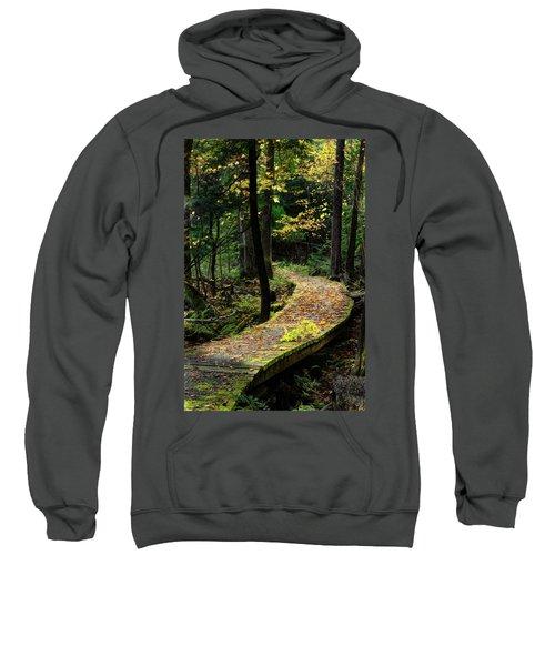 Autumn Boardwalk Sweatshirt