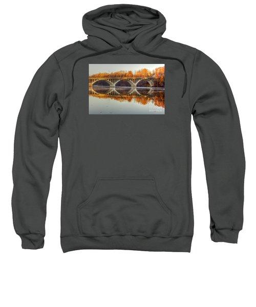 Autumn Bridge Reflections Sweatshirt
