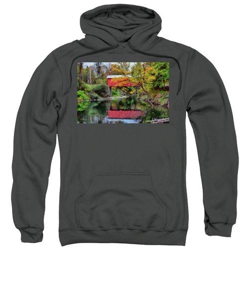 Autumn Colors Over Slaughterhouse. Sweatshirt