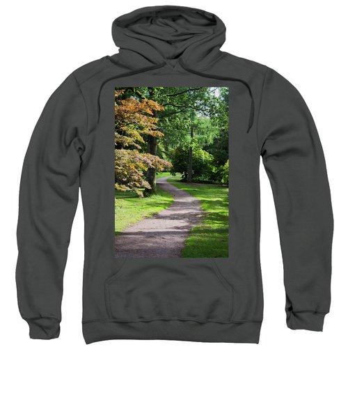 Autumn Forest Path Sweatshirt