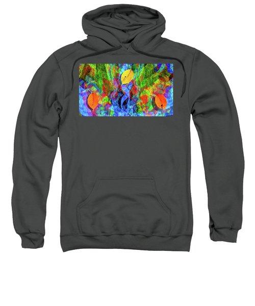 Autumn Leaves Abstract Sweatshirt