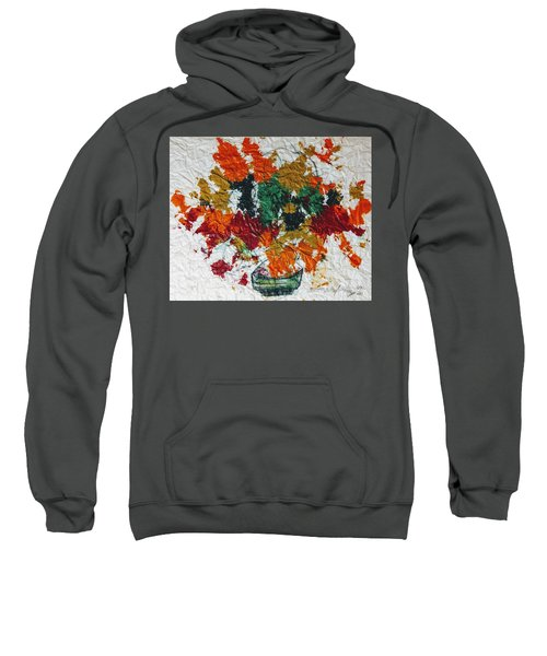 Autumn Leaves Plant Sweatshirt