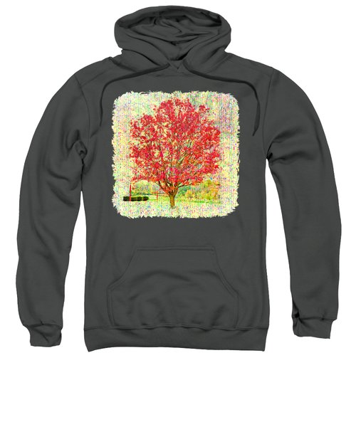 Autumn Musings 2 Sweatshirt by John M Bailey