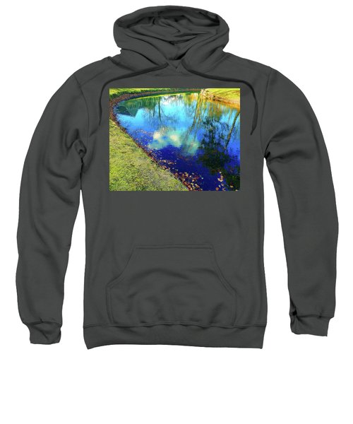Autumn Reflection Pond Sweatshirt
