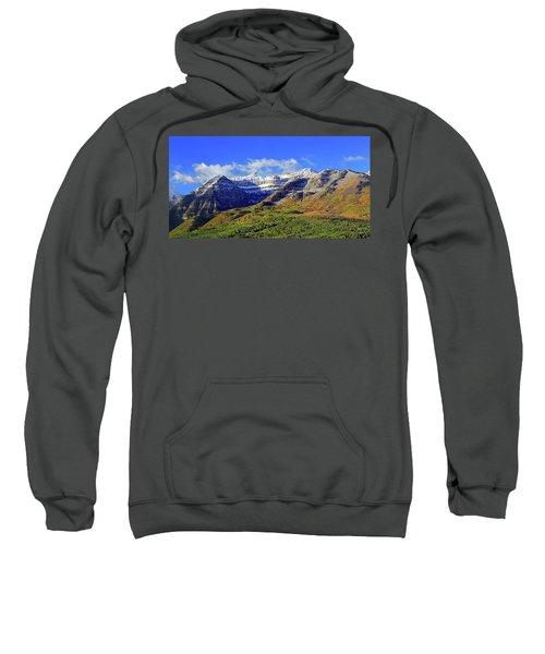 Autumn Snow On Timp Sweatshirt