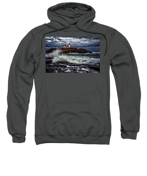 Autumn Storm At Cape Neddick Sweatshirt