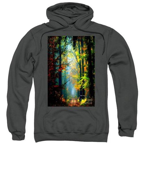 Autumn Trails In Georgia Sweatshirt