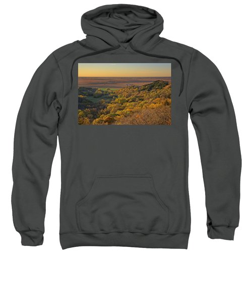 Autumn View At Waubonsie State Park Sweatshirt