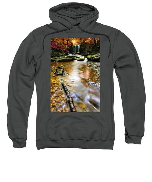 Autumnal Waterfall Sweatshirt