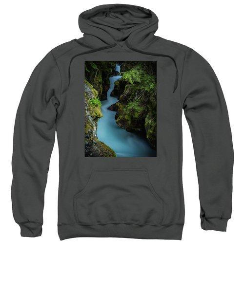 Avalanche Creek- Glacier National Park Sweatshirt