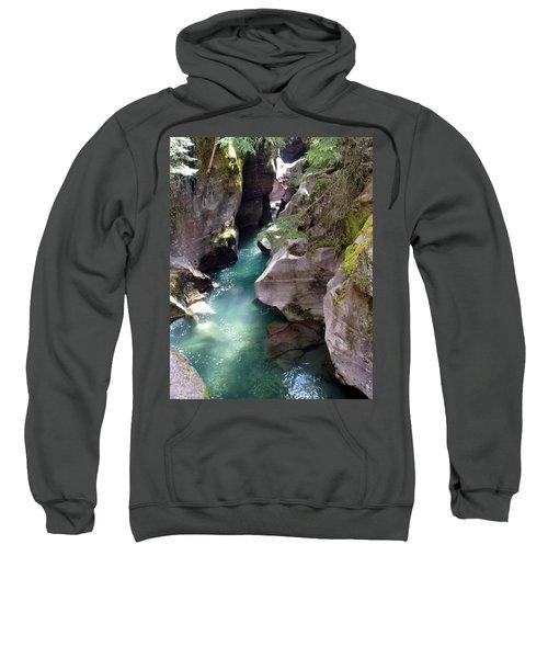 Avalanche Creek Glacier National Park Sweatshirt