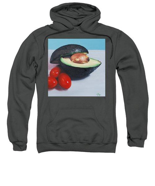Avocado And Cherry Tomatoes Sweatshirt