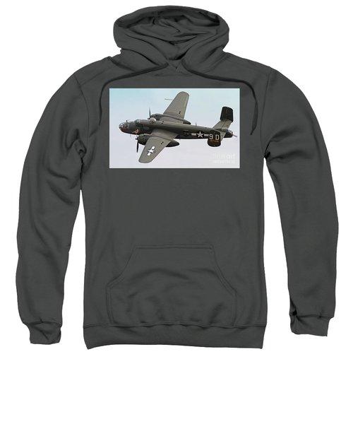 B-25 Mitchell Bomber Aircraft Sweatshirt