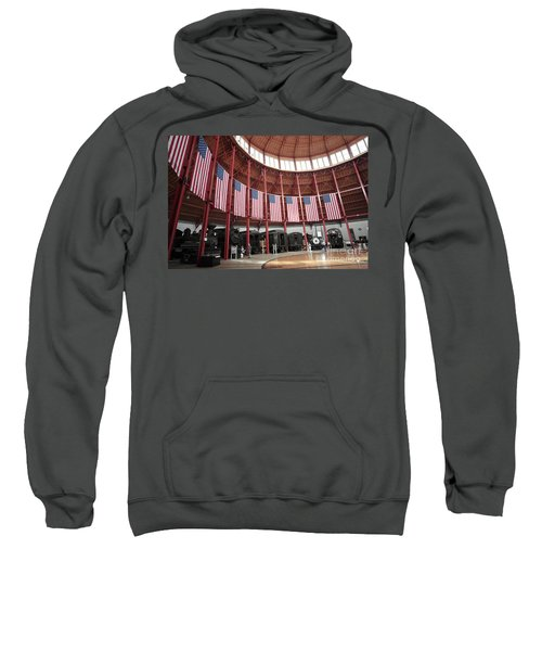 B And O Museum Roundhouse In Baltimore Maryland Sweatshirt