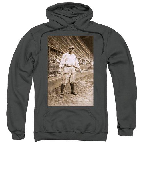 Babe Ruth On Deck Sweatshirt