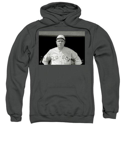 Babe Ruth Red Sox Sweatshirt by Jon Neidert