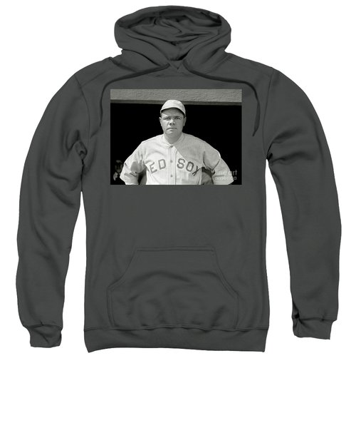 Babe Ruth Red Sox Sweatshirt