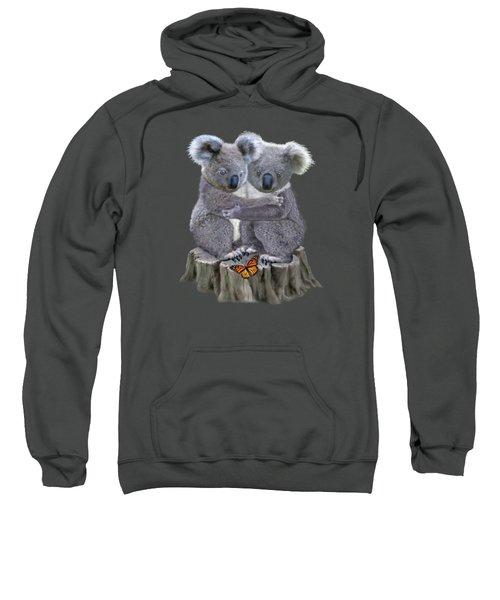 Baby Koala Huggies Sweatshirt by Glenn Holbrook