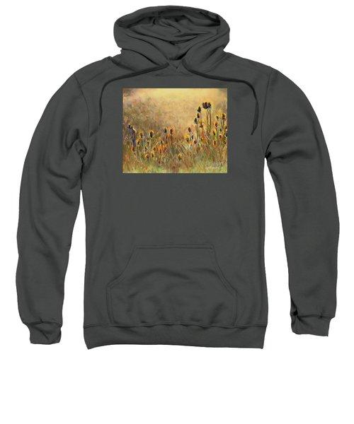 Backlit Thistle Sweatshirt