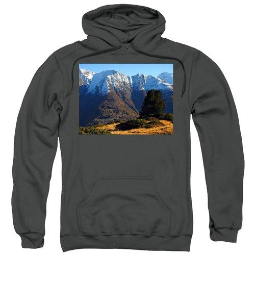 Baettlihorn In Valais, Switzerland Sweatshirt