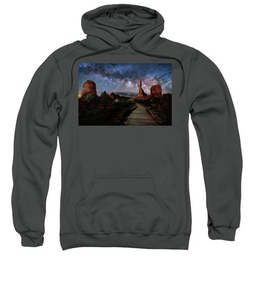 Balanced Rock Milky Way Sweatshirt