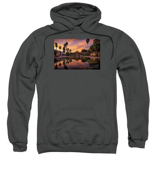 Balboa Park Botanical Building Sunset Sweatshirt