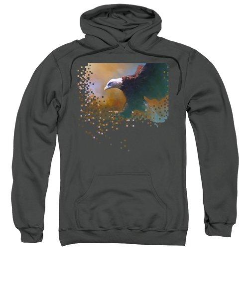 Bald Eagle Landing Sweatshirt