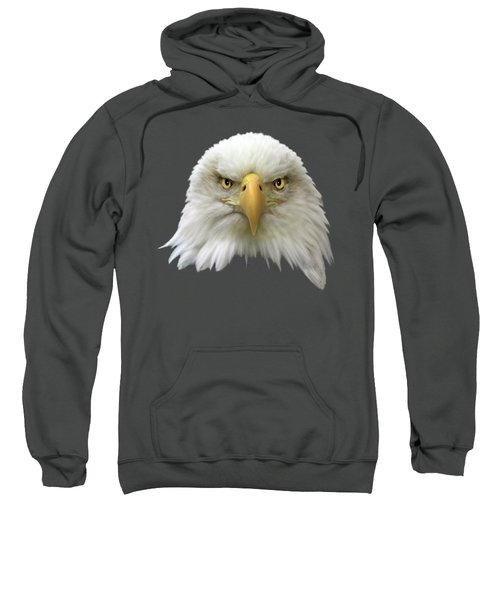 Bald Eagle Sweatshirt by Shane Bechler