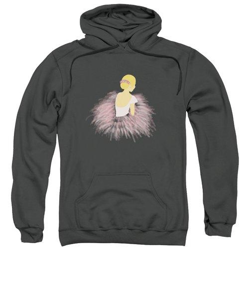 Ballerina Dancer Blonde Sweatshirt
