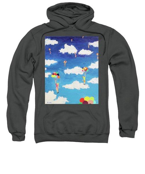Balloon Girls Sweatshirt