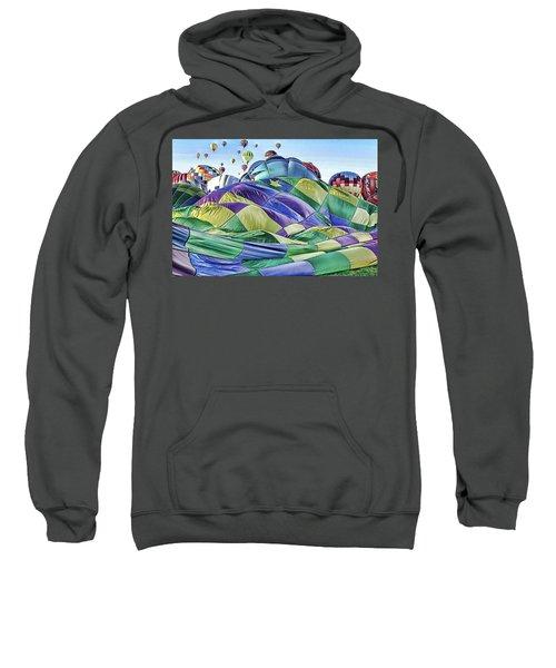 Ballooning Waves Sweatshirt