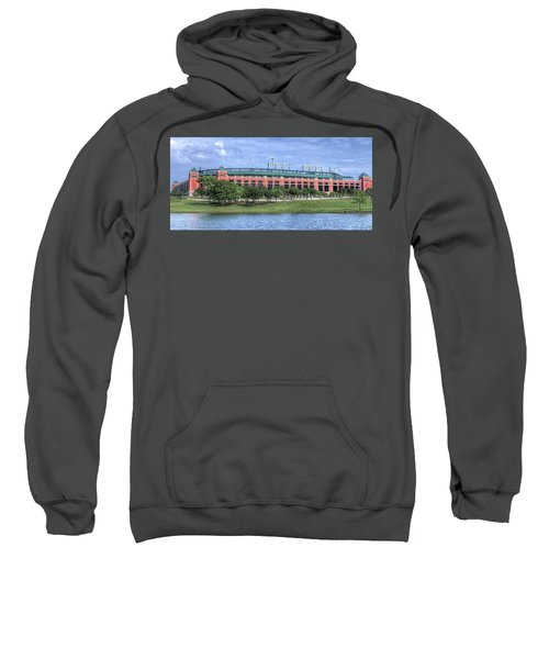 Ballpark In Arlington Now Globe Life Park Sweatshirt