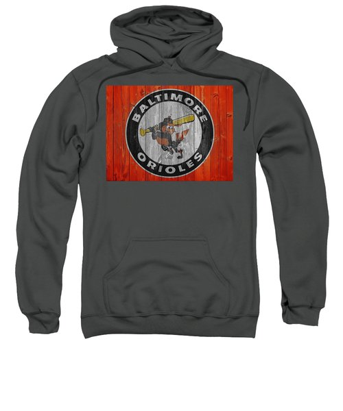 Baltimore Orioles Graphic Barn Door Sweatshirt